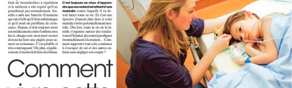 Article dans le magazine Maxi