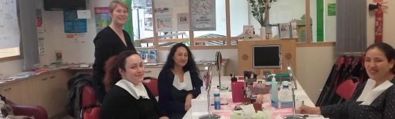 Atelier les mamans d'accord à l'hôpital Robert Debré